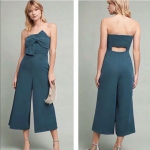 56a0aa8e9ad0 Anthropologie Pants - Anthropologie Hailee C Beatty Strapless Jumpsuit